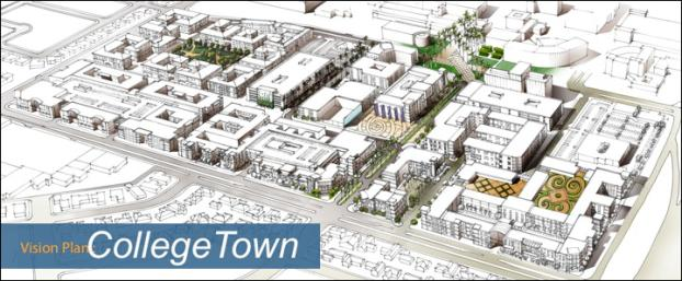 Sketch of CollegeTown Development District