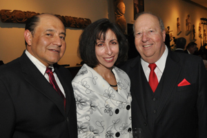 Lou Correa and his wife with Steve Murray.