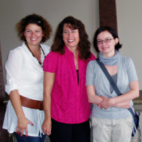 Melinda Pierson with two other women.