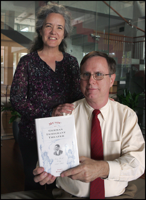 Photo of Profs. Prunty and Koegel