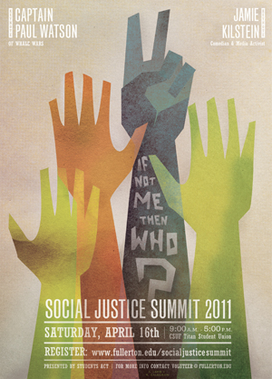 2011 Social Justice Summit poster