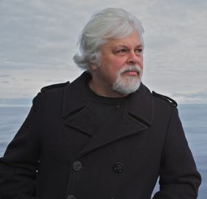 Paul Watson, founder of the marine nonprofit organization Sea Shepherd Conservation Society