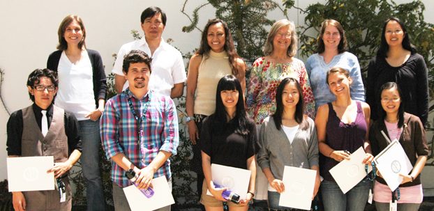 Participants in the summer Howard Hughes Institute program.