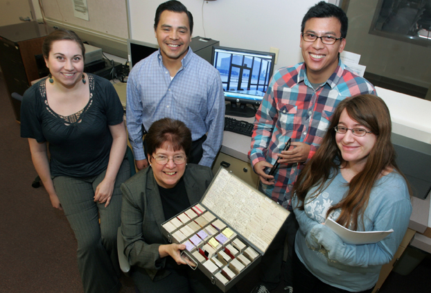 students and staff who are working on the Documenting CSUF project.