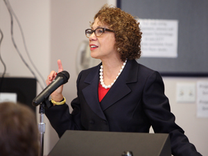 Incoming CSUF President Mildred García.