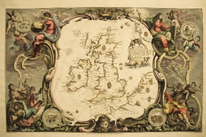 map armada greenock of scotland spanish