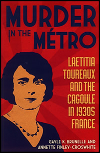 Murder in the Metro book cover